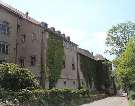 Außenansicht Neue Schloss Baden-Baden