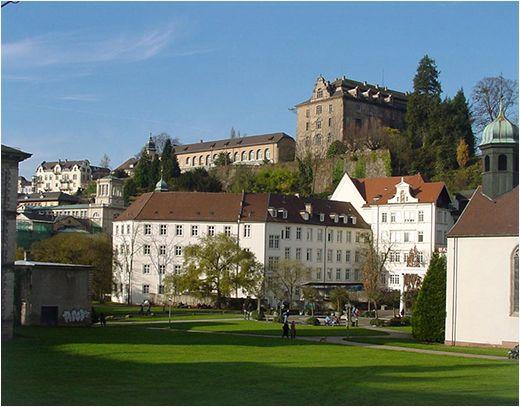 Stadtblick Neue Schloss Baden-Baden